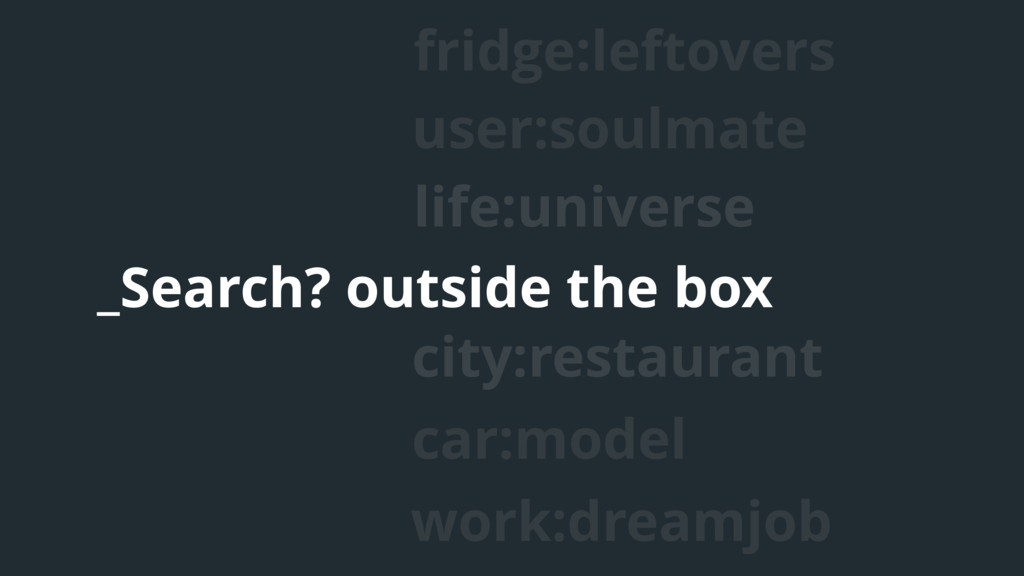 life:universe user:soulmate _Search? outside th...