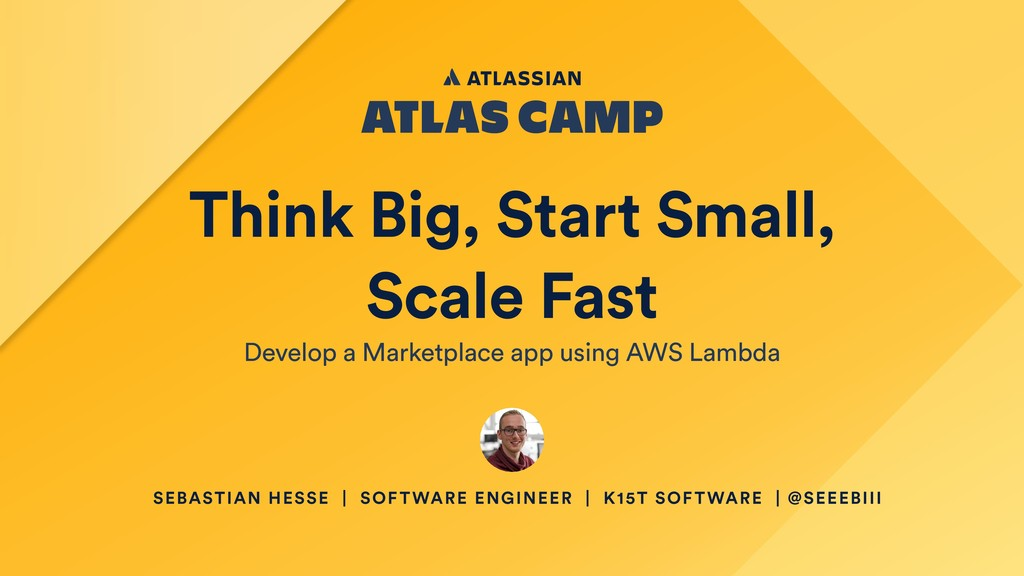 Think Big, Start Small, Scale Fast Develop a Ma...