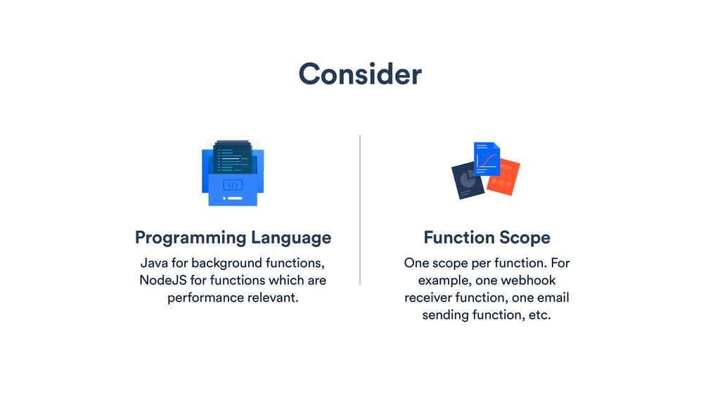 Programming Language Java for background functi...