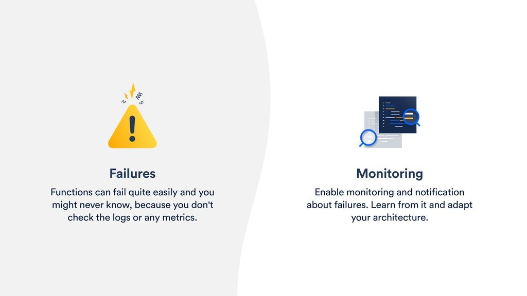 Monitoring Enable monitoring and notification a...