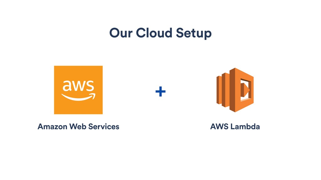Our Cloud Setup + Amazon Web Services AWS Lambda