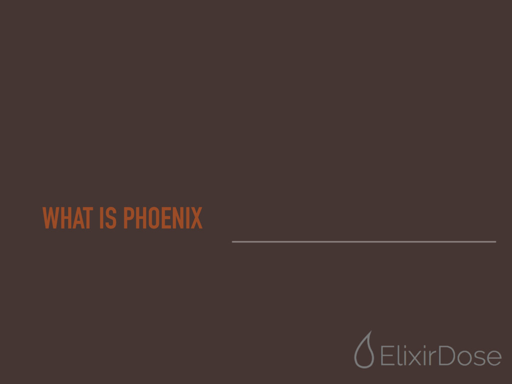 WHAT IS PHOENIX