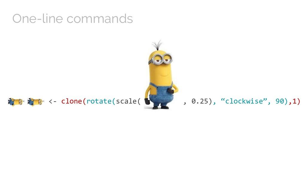 "<- clone(rotate(scale( , 0.25), ""clockwise"", 90..."