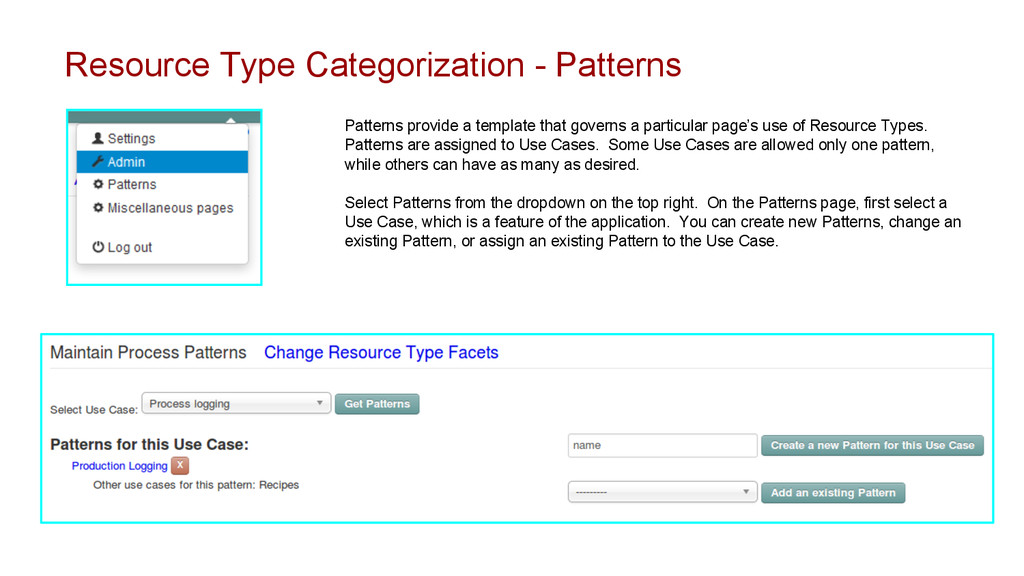 Resource Type Categorization - Patterns Pattern...