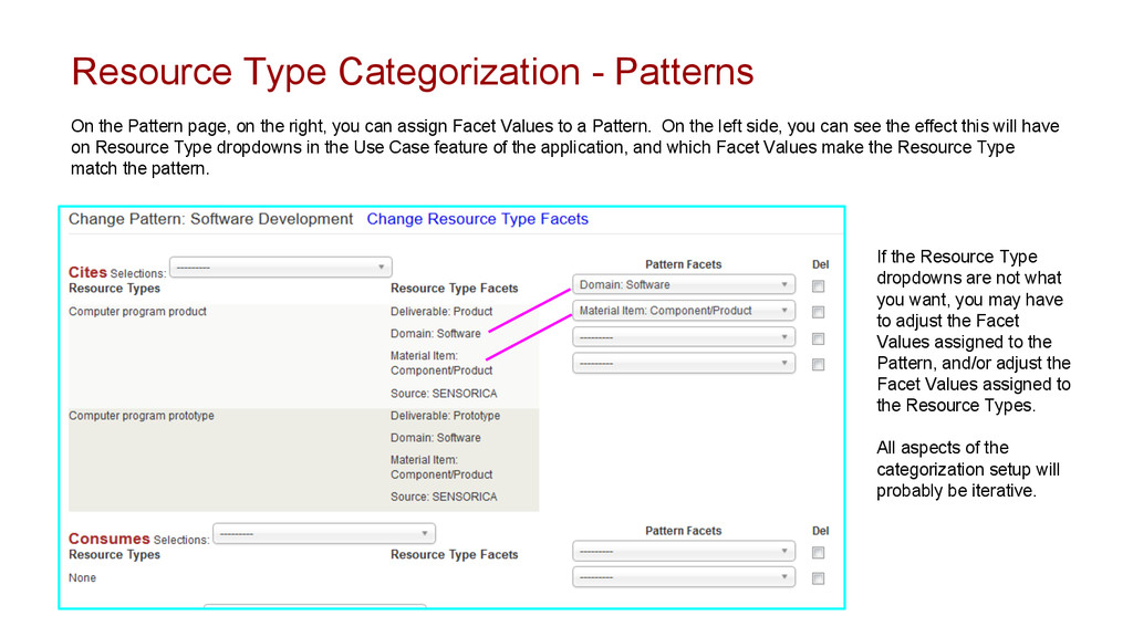 Resource Type Categorization - Patterns On the ...