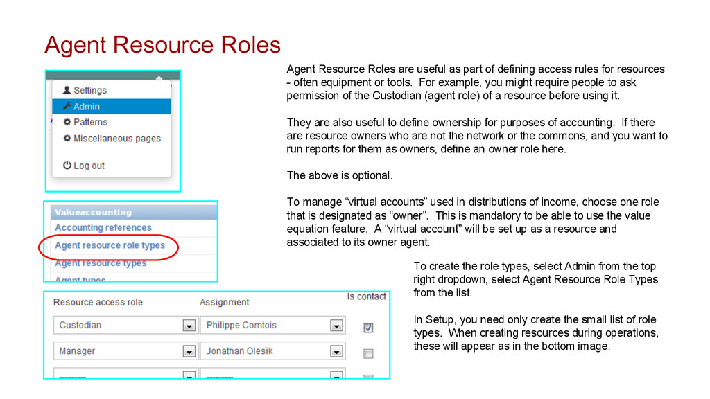 Agent Resource Roles Agent Resource Roles are u...