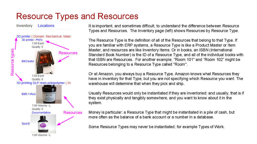 Resource Types and Resources It is important, a...