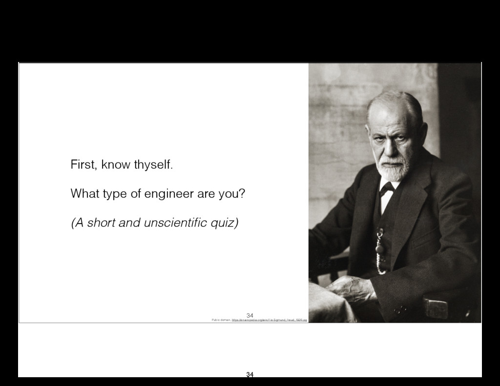First, know thyself. What type of engineer are ...