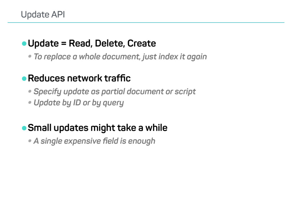 •Update = Read, Delete, Create •To replace a wh...