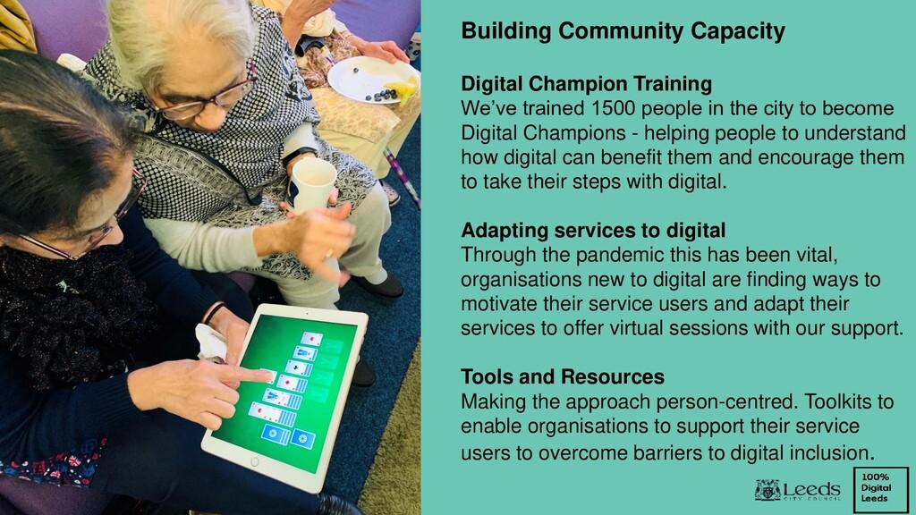 Building Community Capacity Digital Champion Tr...
