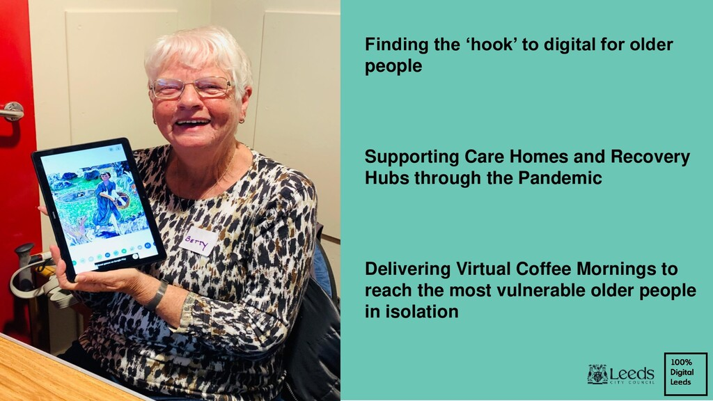 Finding the 'hook' to digital for older people ...