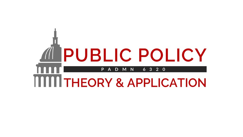 PUBLIC POLICY THEORY & APPLICATION P A D M N 6 ...