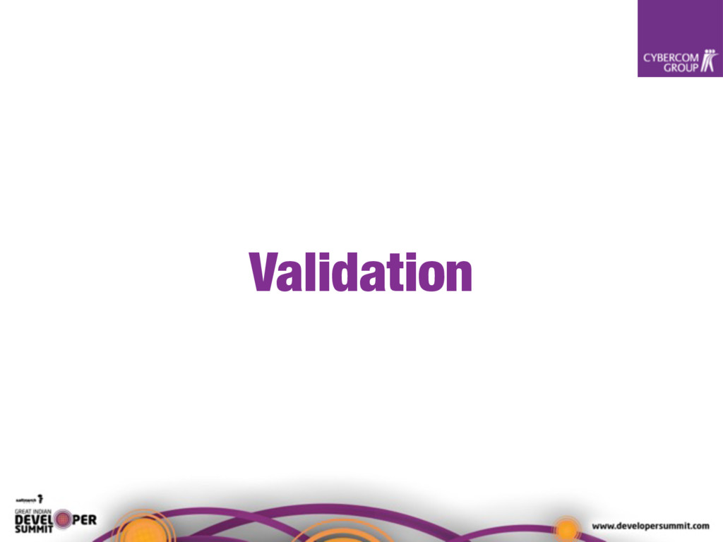 Validation