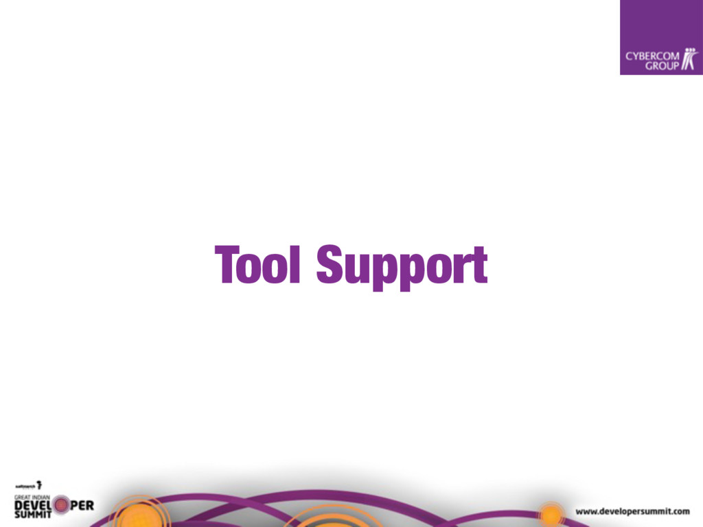 Tool Support