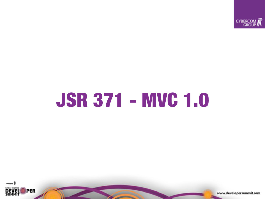 JSR 371 - MVC 1.0