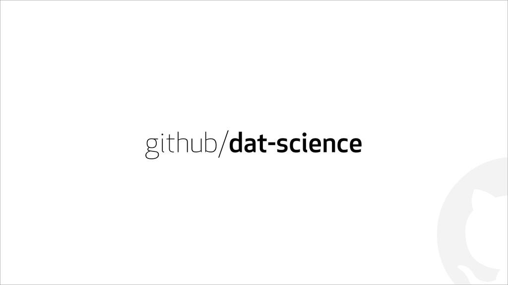 ! github/dat-science