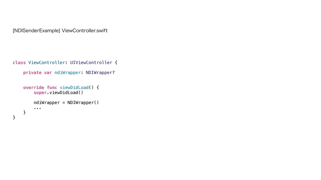 class ViewController: UIViewController {   priv...