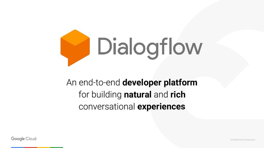 Confidential & Proprietary developer platform n...