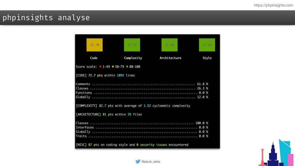 @jakub_zalas phpinsights analyse https://phpins...