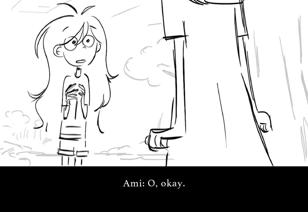A mi : O , o k a y .