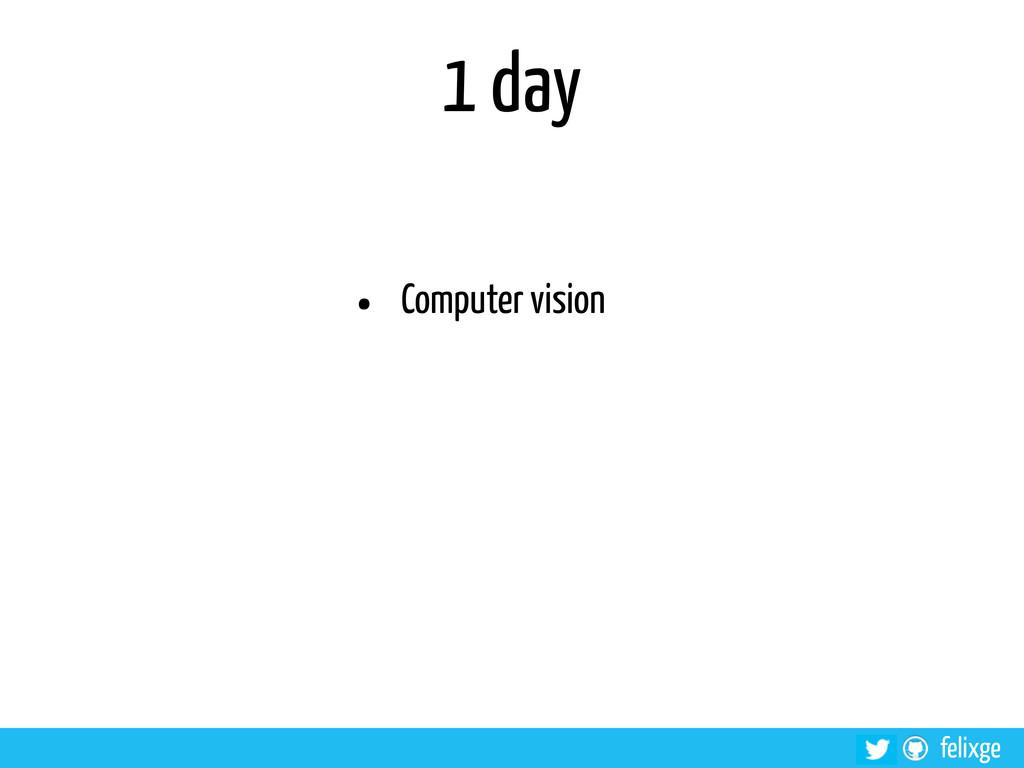 @felixge felixge 1 day • Computer vision