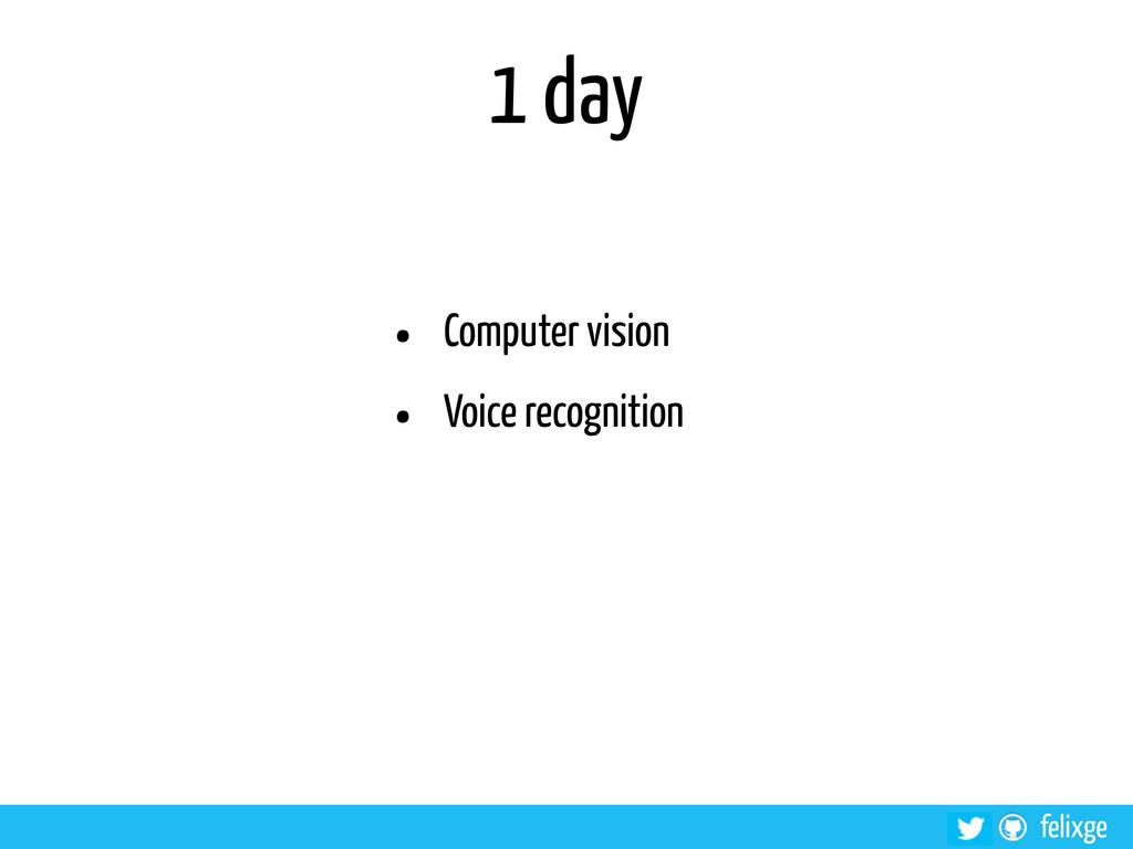 @felixge felixge 1 day • Computer vision • Voic...