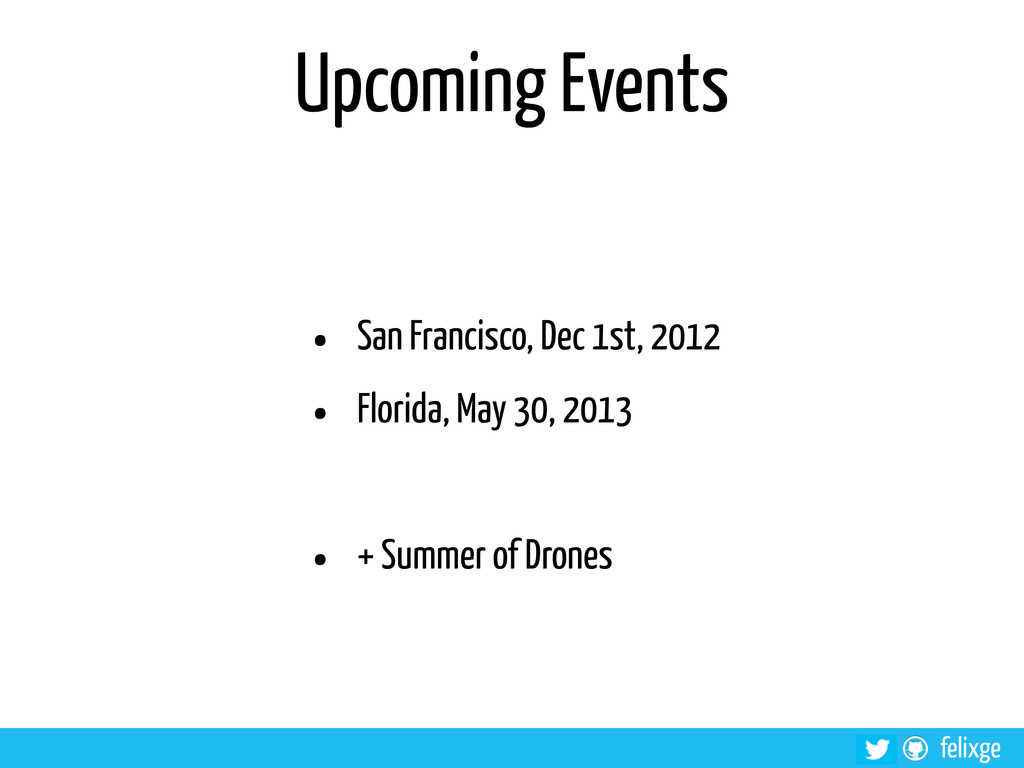 @felixge felixge Upcoming Events • San Francisc...