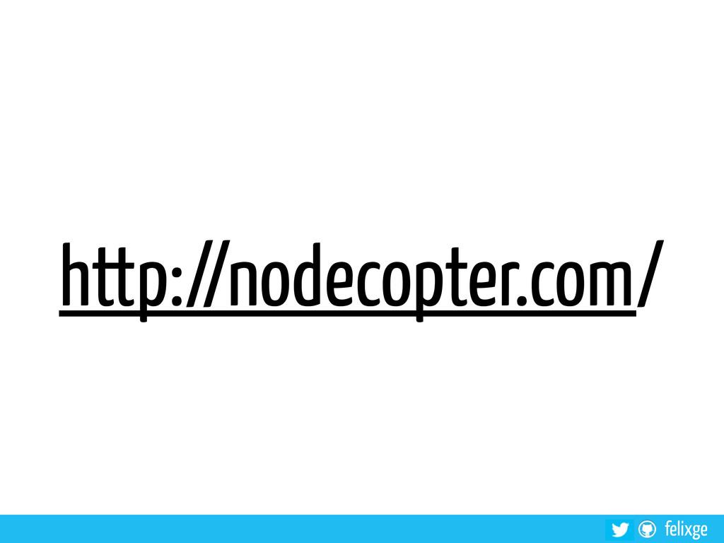 felixge http://nodecopter.com/