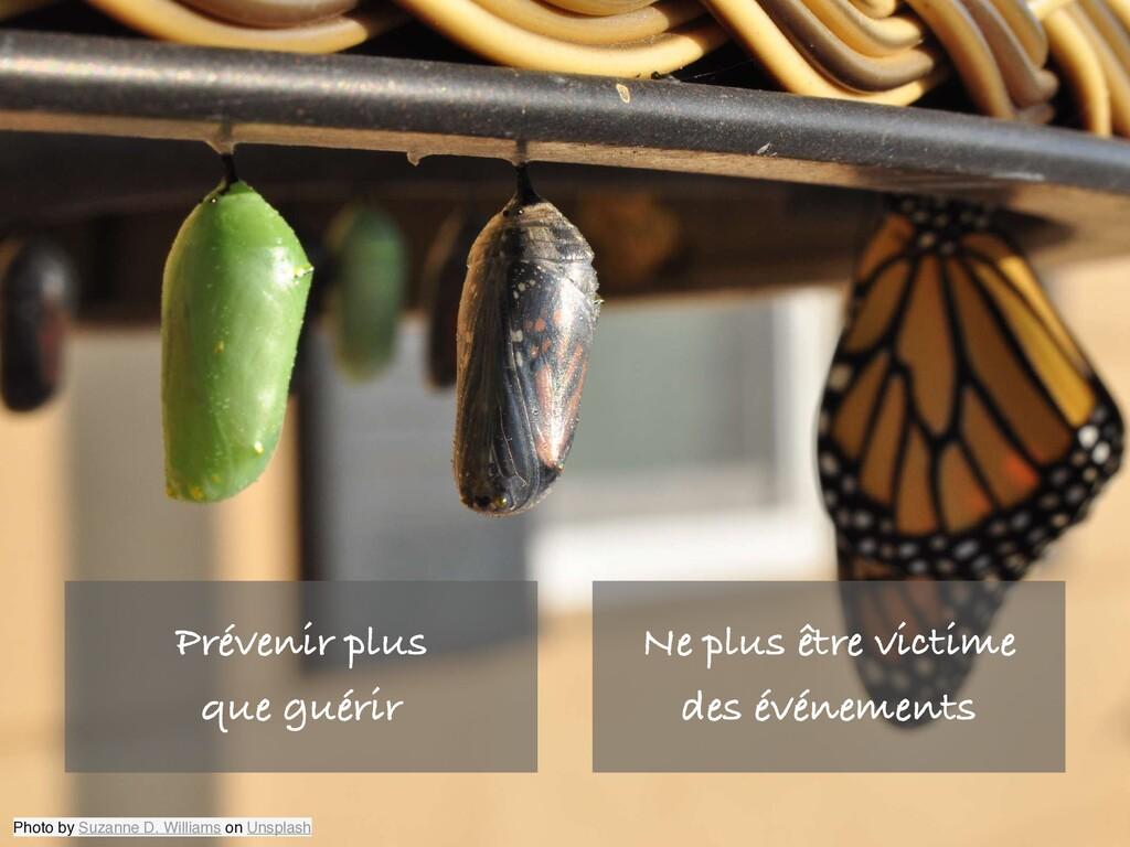 Ne plus être victime des événements Photo by Su...