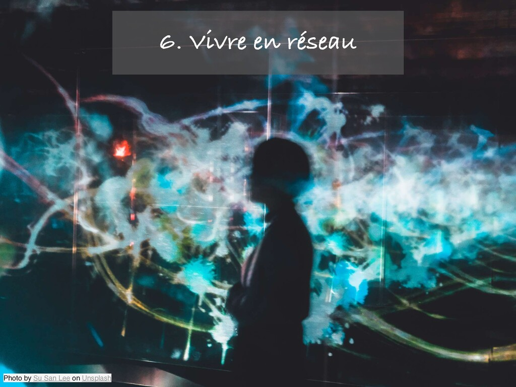 Photo by Su San Lee on Unsplash 6. Vivre en rés...