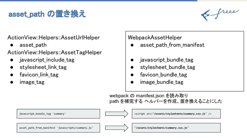 asset_path 置き換え ebpackAssetHelper ● asset_pat...