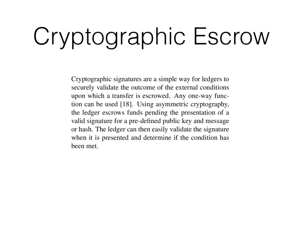 Cryptographic Escrow otocol for any reason, del...