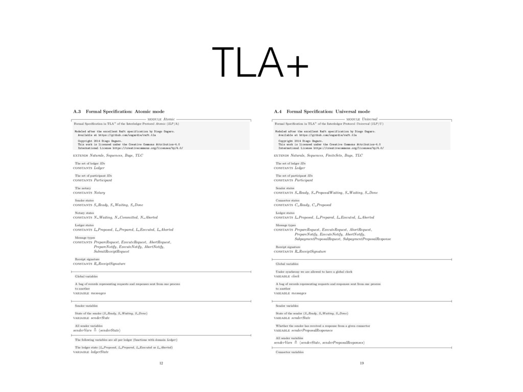 TLA+ A.3 Formal Specification: Atomic mode modul...