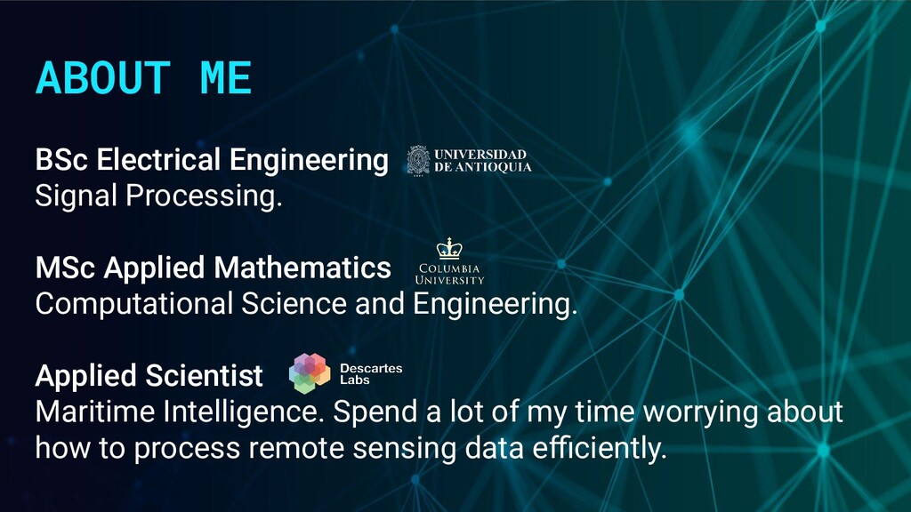 ABOUT ME BSc Electrical Engineering Signal Proc...