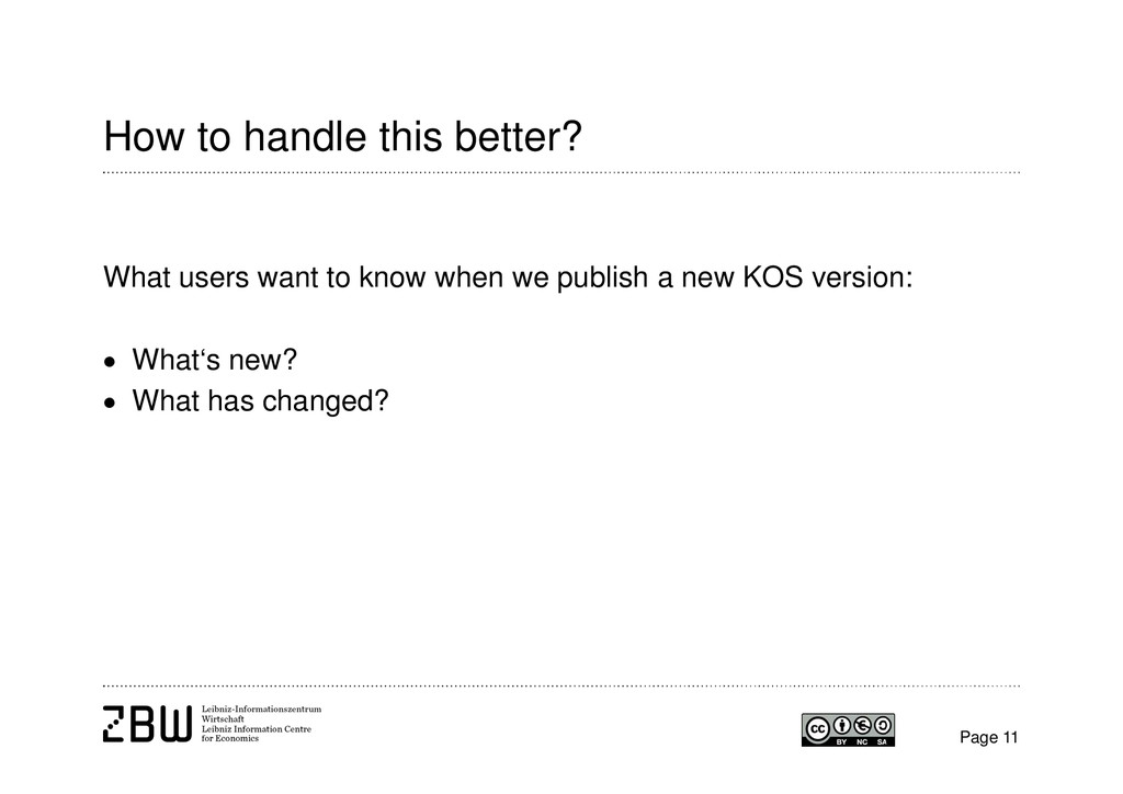 How to handle this better? Page 11 What users w...