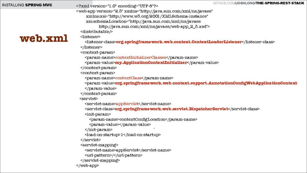 GITHUB.COM/JOSHLONG/THE-SPRING-REST-STACK INSTA...