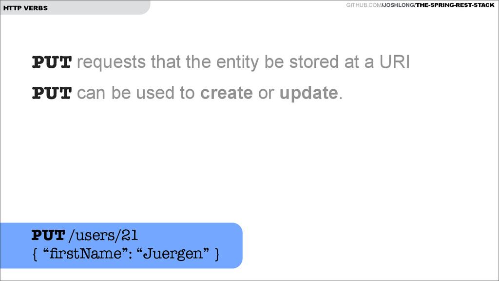GITHUB.COM/JOSHLONG/THE-SPRING-REST-STACK HTTP ...