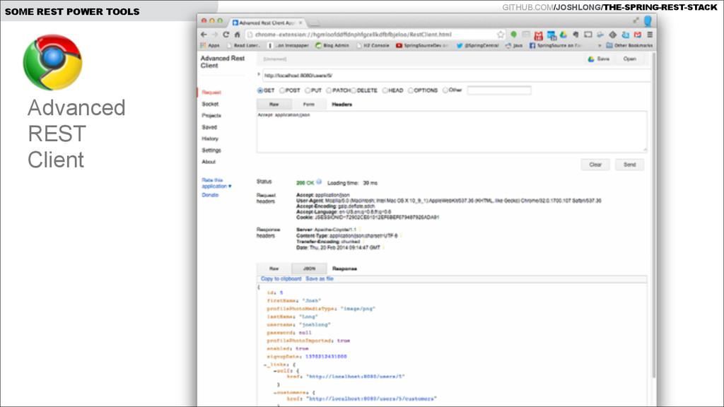 GITHUB.COM/JOSHLONG/THE-SPRING-REST-STACK SOME ...