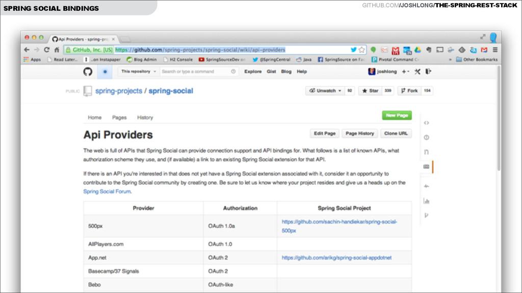 GITHUB.COM/JOSHLONG/THE-SPRING-REST-STACK SPRIN...