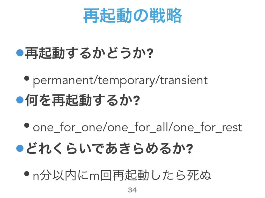 ࠶ىಈͷઓུ •࠶ىಈ͢Δ͔Ͳ͏͔? • permanent/temporary/transi...