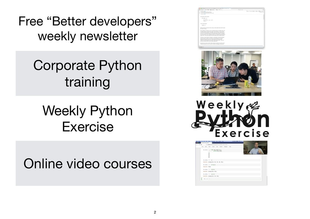 """Free """"Better developers""""  weekly newsletter Cor..."""