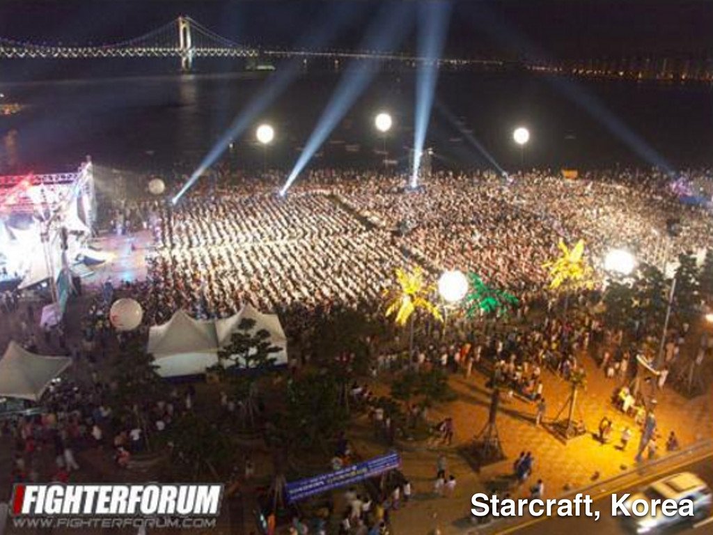 Starcraft, Korea