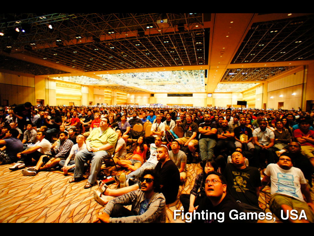 Fighting Games, USA