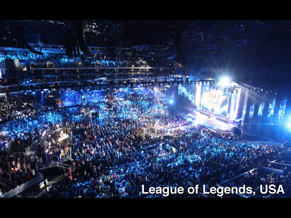 League of Legends, USA