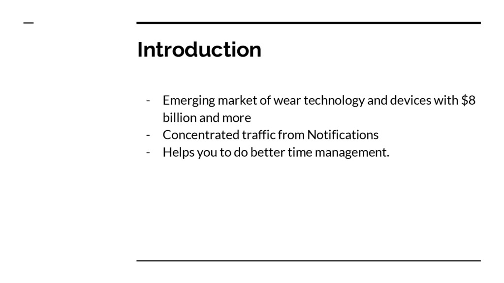 Introduction - Emerging market of wear technolo...