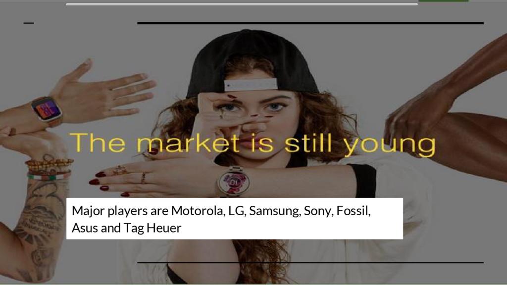 Major players are Motorola, LG, Samsung, Sony, ...