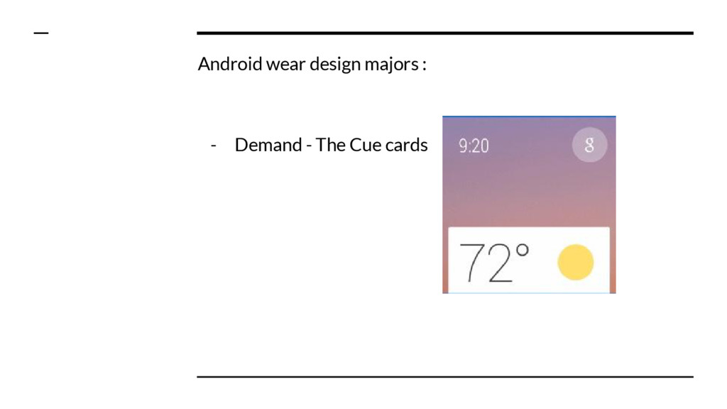Android wear design majors : - Demand - The Cue...