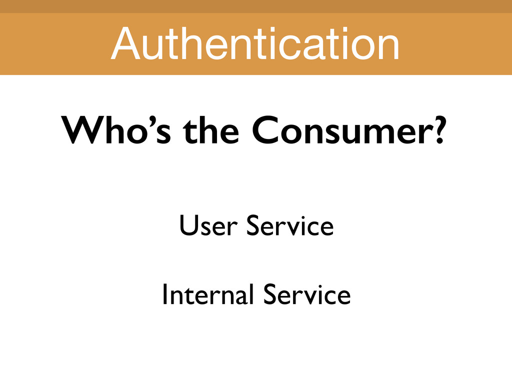 Title Title Who's the Consumer? User Service In...