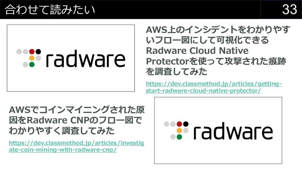 33 合わせて読みたい AWS上のインシデントをわかりやす いフロー図にして可視化できる Ra...