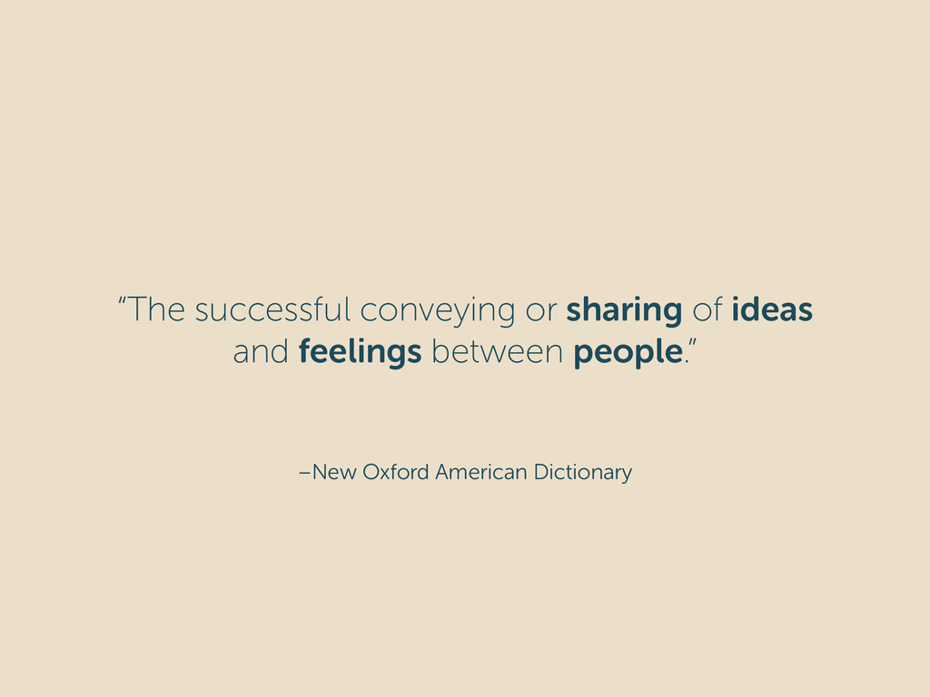 """–New Oxford American Dictionary """"The successful..."""